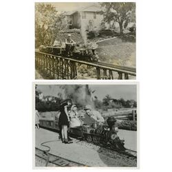 Pair of Original Lilly Belle Train Photos.