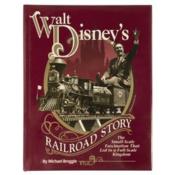 """Walt Disney's Railroad Story"" Book."