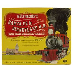 Santa Fe & Disneyland Railroad Electric Train Set.