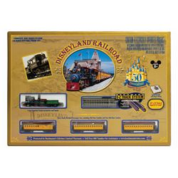 Disneyland Railroad N Scale Electric Train Set.