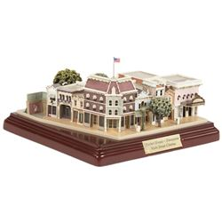 Market House and Main Street Cinema Model by Olszewski.