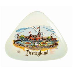 Eleanore Welborn Disneyland Ceramic Dish.