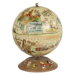 Disneyland Magnetic Game Globe in Box.