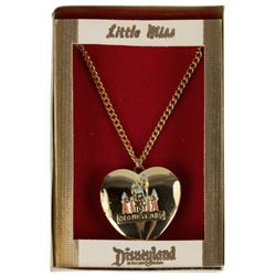 Little Miss Disneyland Heart-Shaped Locket.
