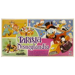 """Turista Disneylandia"" Spanish Disneyland Board Game."