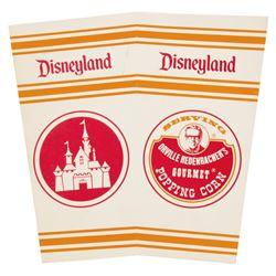 Disneyland Popcorn Box.