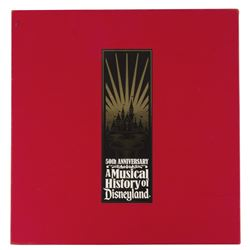 """A Musical History of Disneyland"" 50th Anniversary Set."