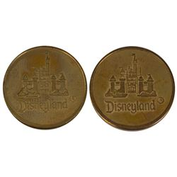 Pair of Disneyland Locker Rental Coins.