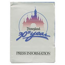 30th Anniversary Press Information Packet.