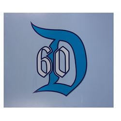 Disneyland 60th Anniversary Diamond Sign.