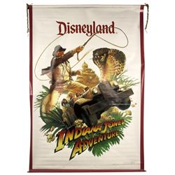 Indiana Jones Adventure Double-Sided Banner.