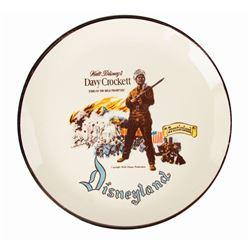 Eleanore Welborn Davy Crockett Plate.