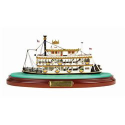 Mark Twain Riverboat Model by Olszewski.