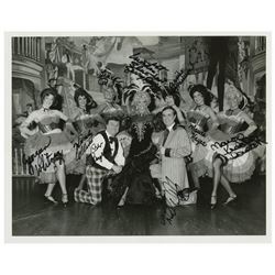 Golden Horseshoe Revue Multi-Signed Photo.
