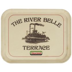 The River Belle Terrace Serving Tray.