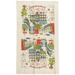 New Orleans Square Kitchen Towel.