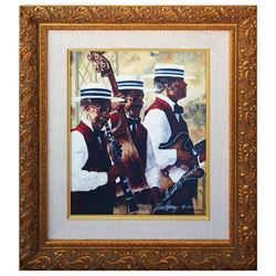 The Royal Street Bachelors Signed Print.