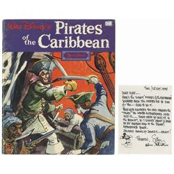 Multi-Signed Pirates of the Caribbean Souvenir Guide.