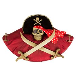 Pirates of the Caribbean Skull Wall Plaque.