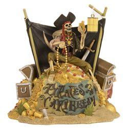 Pirates of the Caribbean Treasure Room Figure.