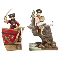 Pair of Pirates of the Caribbean WDCC Figures.