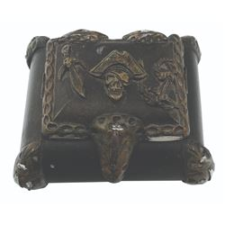 Pirates of the Caribbean Treasure Chest Trinket Box.