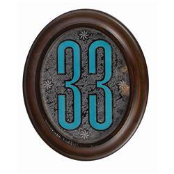 Club 33 Members Only Door Plaque.