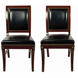 Pair of Original Club 33 Chairs.