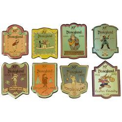 Set of (8) Disneyland  Land  Pins.