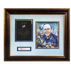 Jack Wagner Commemorative Framed Set.