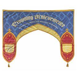 Disney Gallery Crowning Achievements Exhibit Banner.