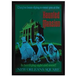 Haunted Mansion Attraction Poster.