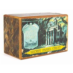 Large Haunted Mansion Secret Panel Chest.