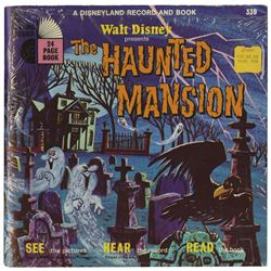 Disneyland Haunted Mansion Record & Book.