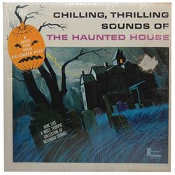 Disneyland Haunted House Souvenir Record.