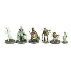 Haunted Mansion Pewter Miniatures in Box.