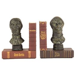 Haunted Mansion Bookends.