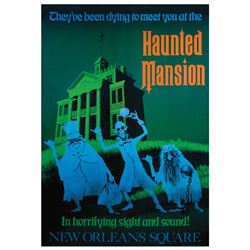 Disney Gallery Haunted Mansion Attraction Poster.