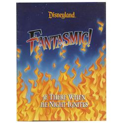 Fantasmic! Press Packet.