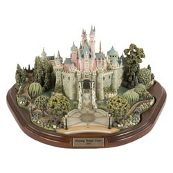 Sleeping Beauty Castle Model by Olszewski.