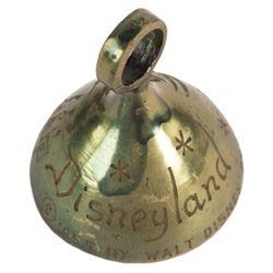 Tinker Bell & Castle Disneyland Souvenir Bell.