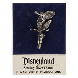 Vintage Disneyland Tinker Bell Sterling Silver Charm.