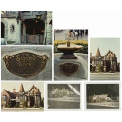 Group of (7) Fantasyland Reference Photos.