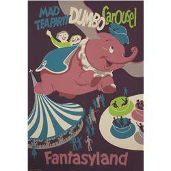 Fantasyland Attraction Poster.