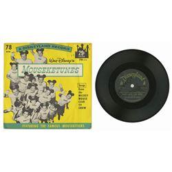 Walt Disney's Mouseketunes Record.