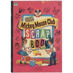 Walt Disney's Mickey Mouse Club Scrapbook.