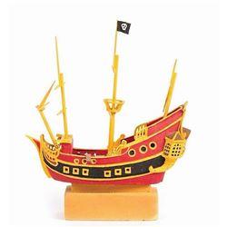 Fantasyland Pirate Ship Imagineering Model.