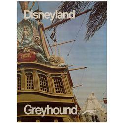 Greyhound Fantasyland Travel Poster.