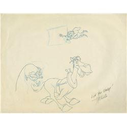Mr. Toad's Wild Ride X. Atencio Attraction Drawings.
