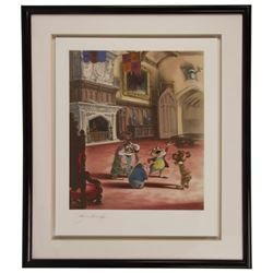 Signed John Hench Toad Hall Limited Edition Print.